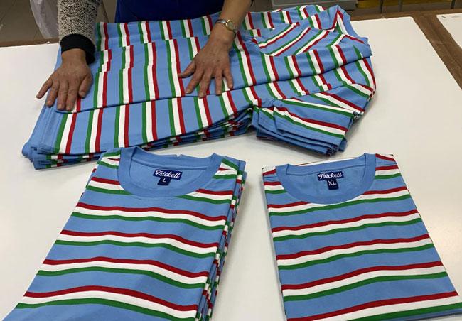 9. Tricketts Napoli stripe t-shirt
