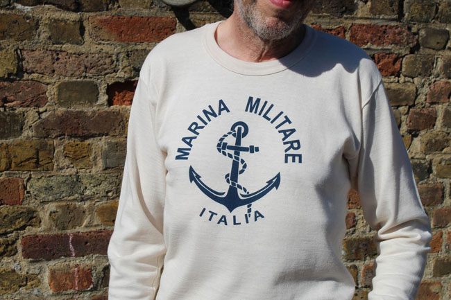 Vintage Italian sailor tops at Ham Yard Vintage