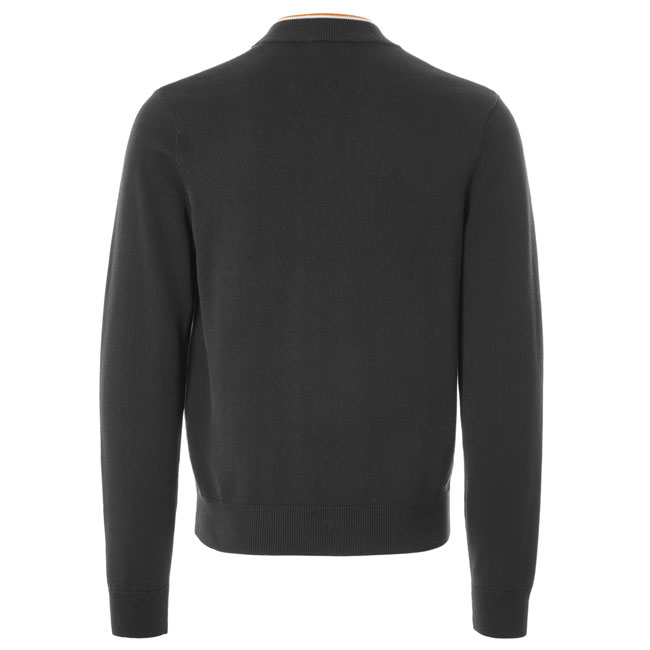 Knitted zip-through bomber by Fred Perry