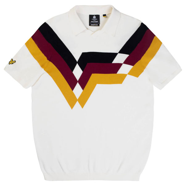 Classic football top polo shirts by Lyle and Scott