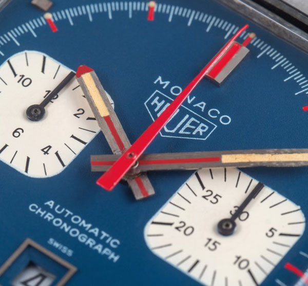Steve McQueen's Tag Heuer Monaco watch up for auction