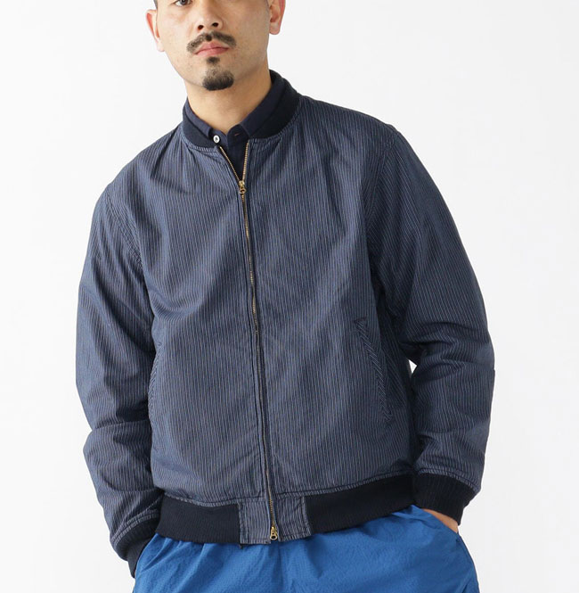 1960s-style blouson jacket by Beams Plus