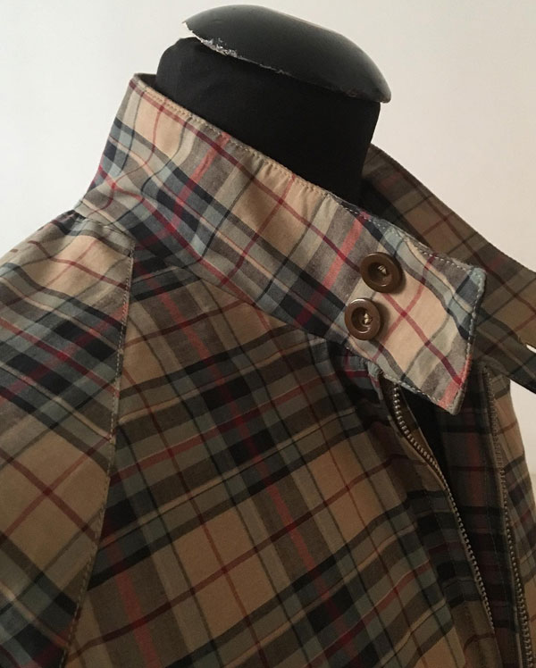 Madras Harrington jackets by Connection Knitwear