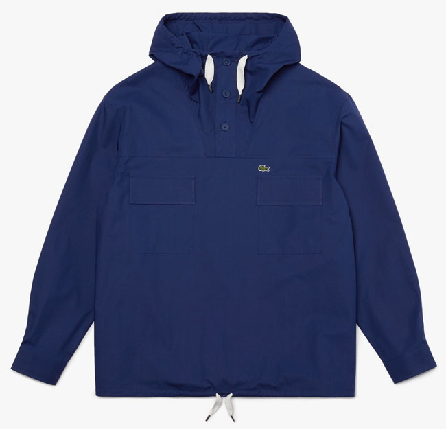 Sale watch: Lacoste water-resistant canvas smock