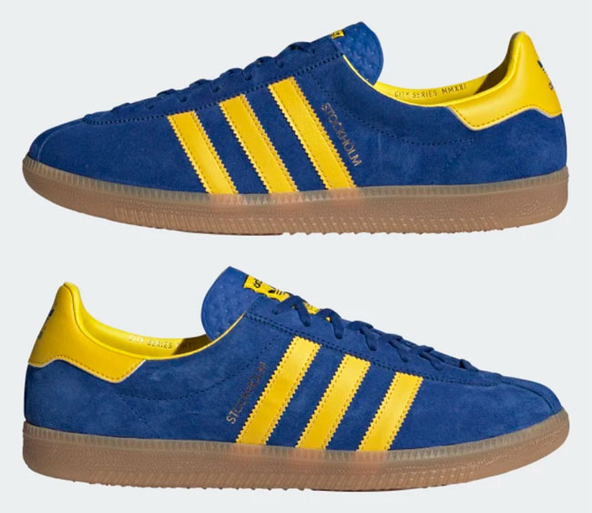 Adidas Stockholm City Series trainers reissue