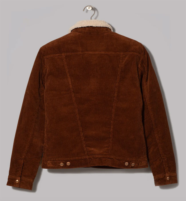 Wrangler corduroy sherpa jacket